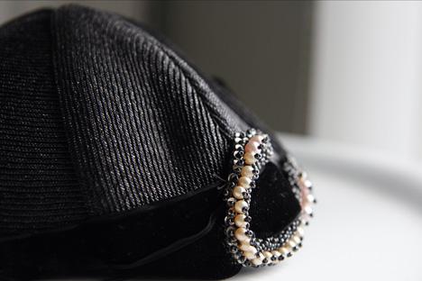 hatt-med-pärlor