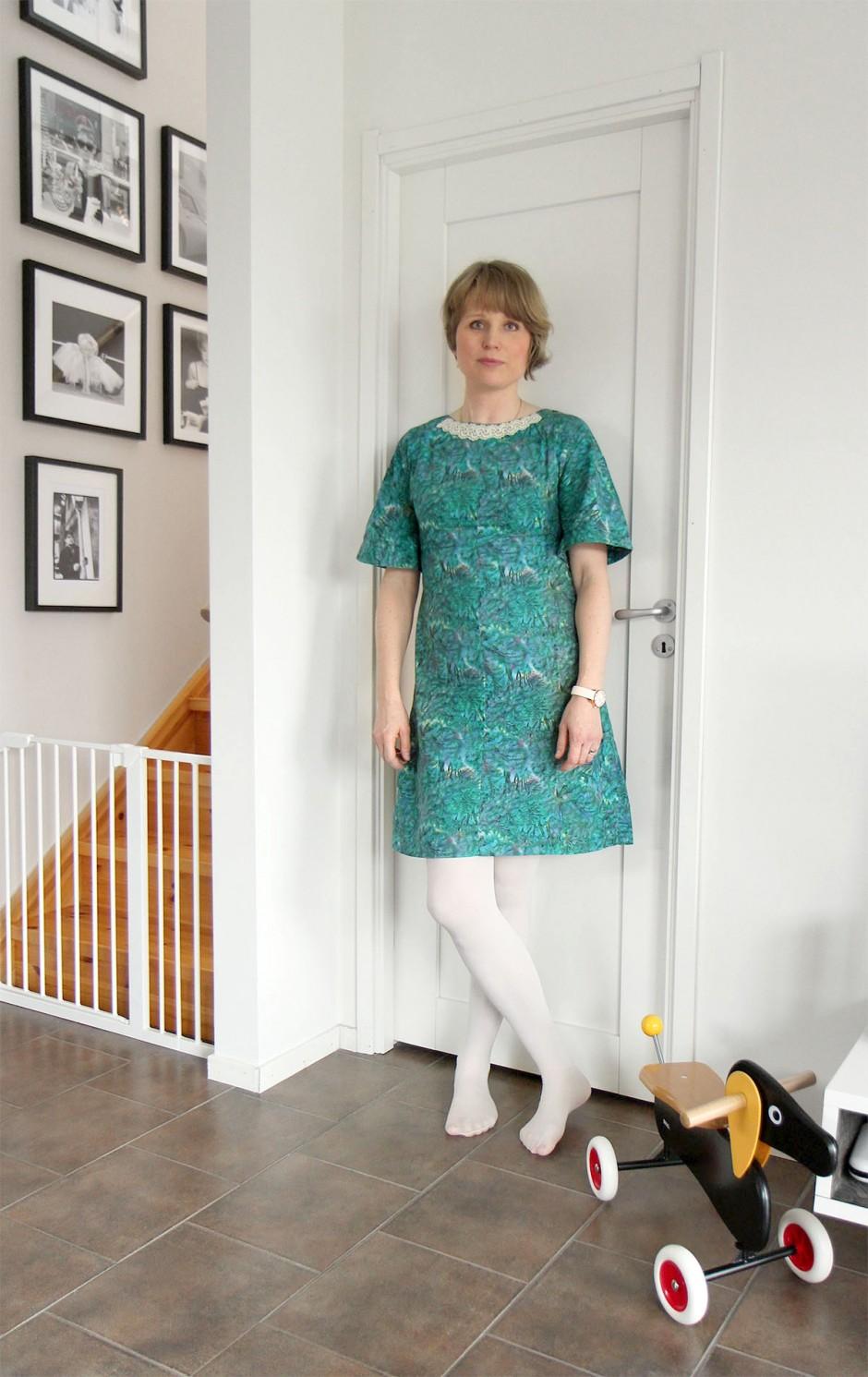 grön-klänning