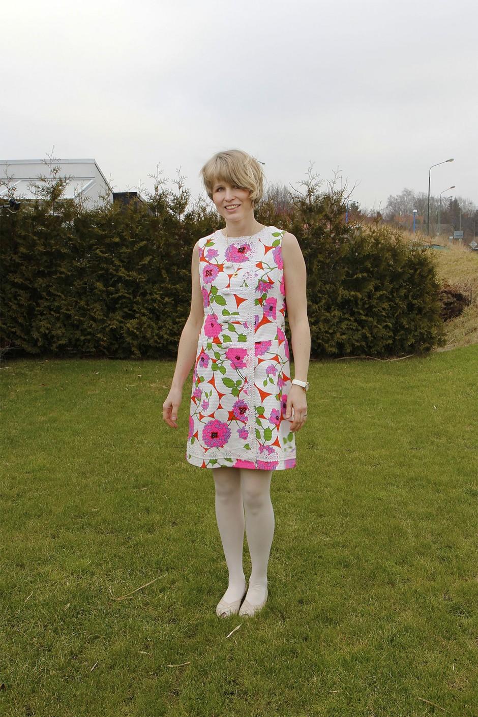 klänning-vintage-60-tal