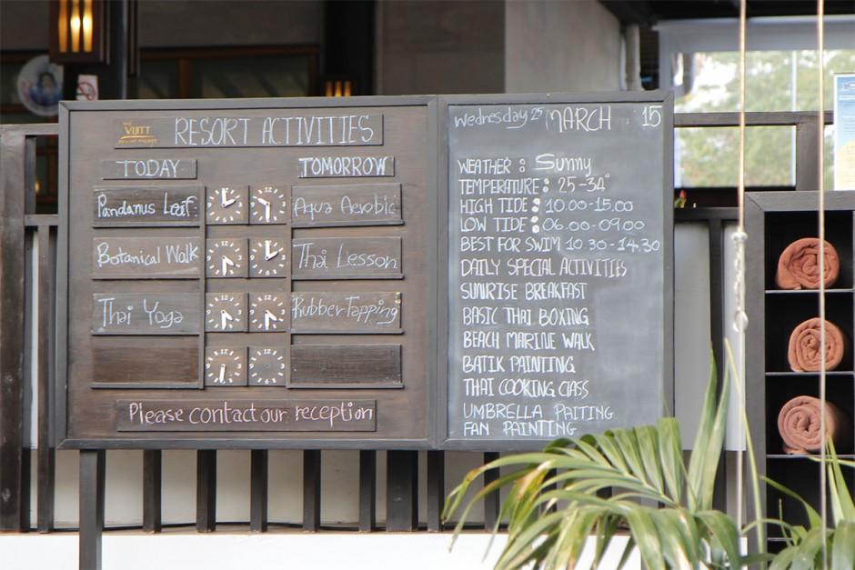vijitt resort activities
