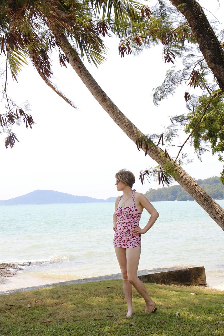 baddräkt thailand rawai