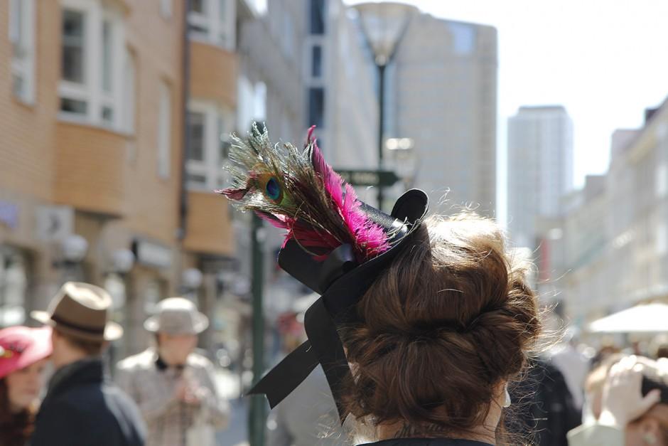 hatt-påfågel