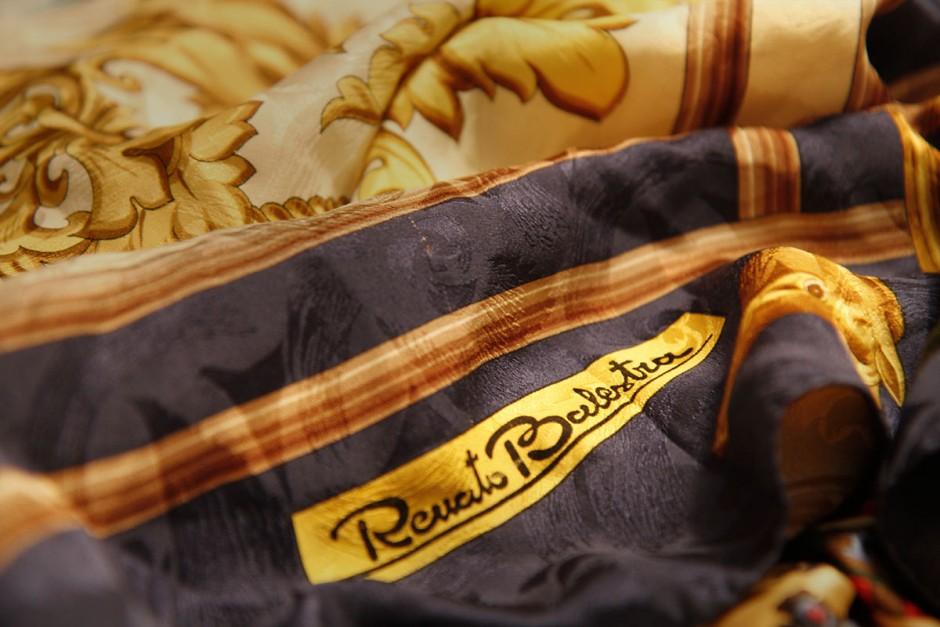 renato balestra scarf silk