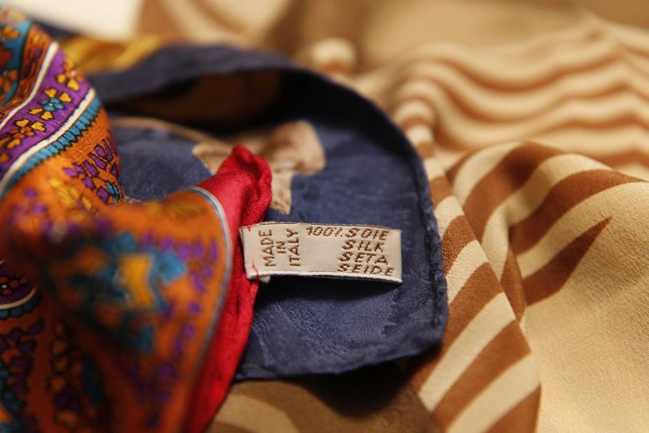 scarf 100 silk italy