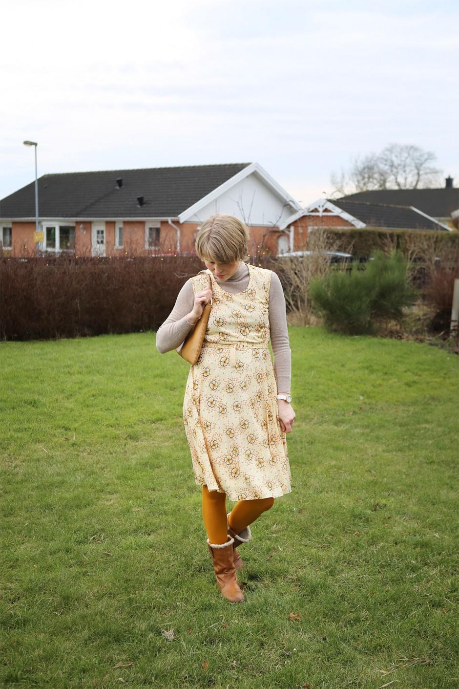 klänning i kylan