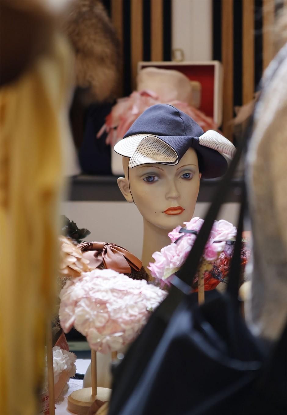 hatt på provdocka
