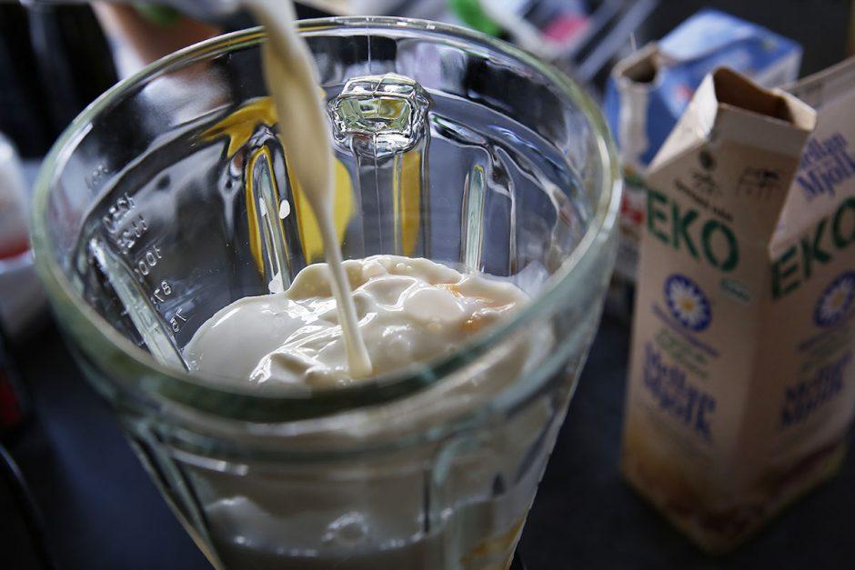 ekomjölk och yoghurt
