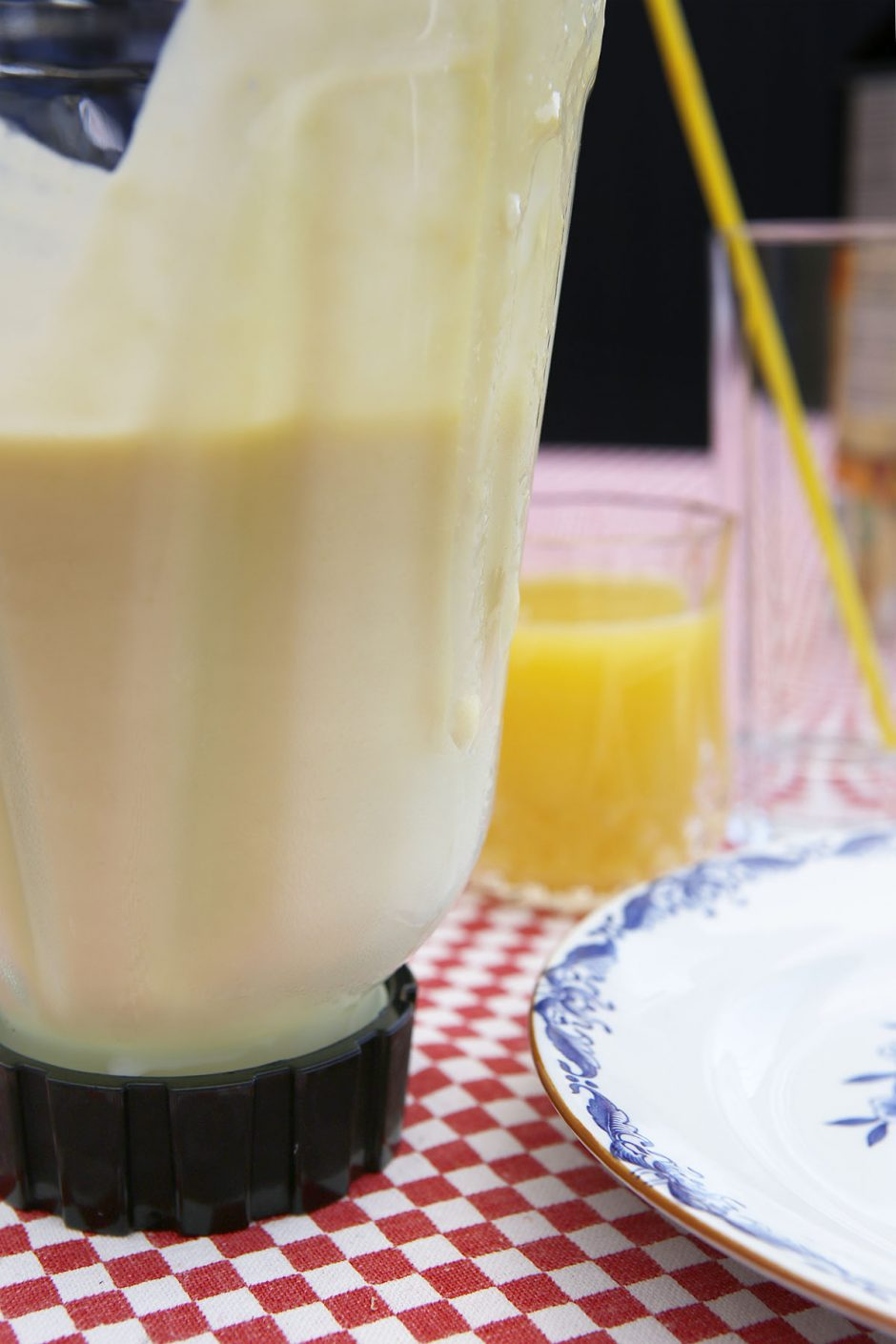 mixer med smoothie