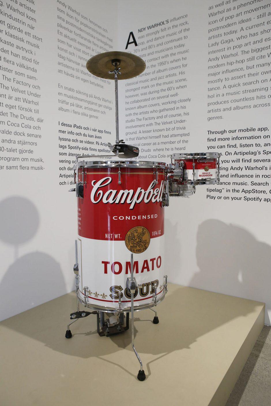 campbell soup trummor warhol