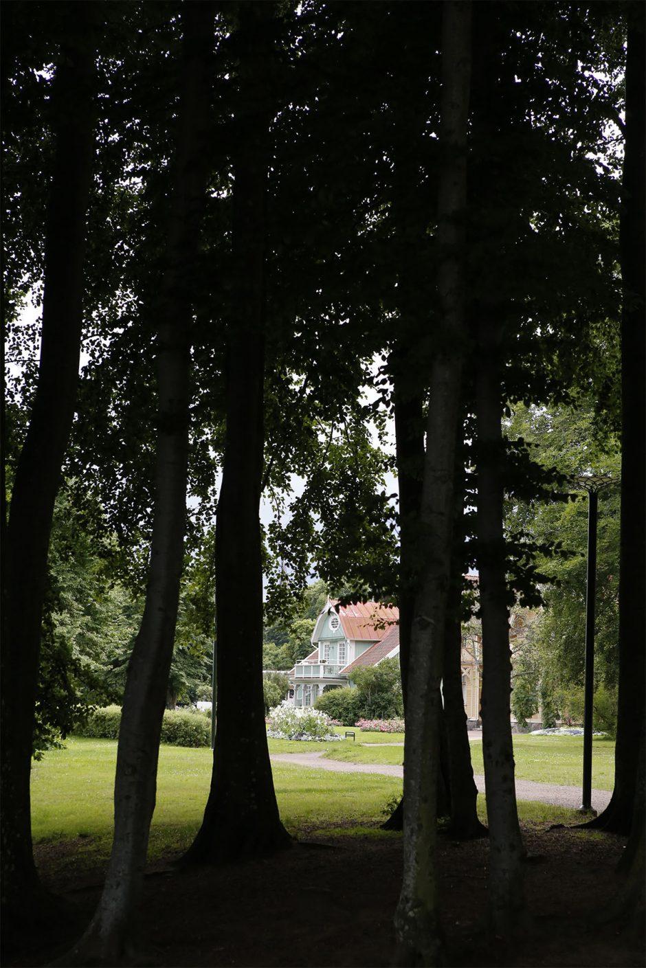 grönt hus i hjo