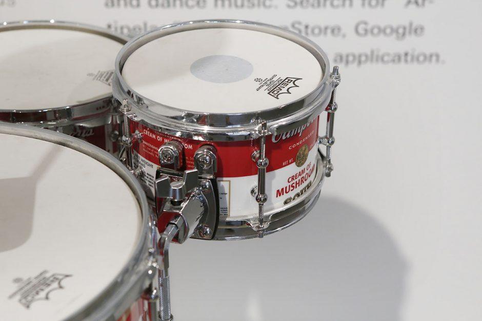 warhol soppa trummor