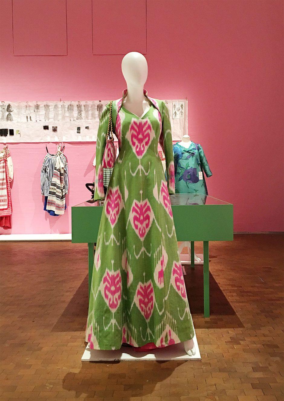 vintage pastellklänning thulin